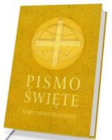 Biblia Poznańska. Pismo Święte. Stary i Nowy Testament [beżowa oprawa, mały format]