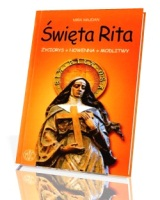 Książka św Rita Z Cascii życiorys Nowenna Modlitwy Mira Majdan