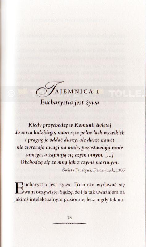 7 tajemnic Eucharystii - Klub Książki Tolle.pl