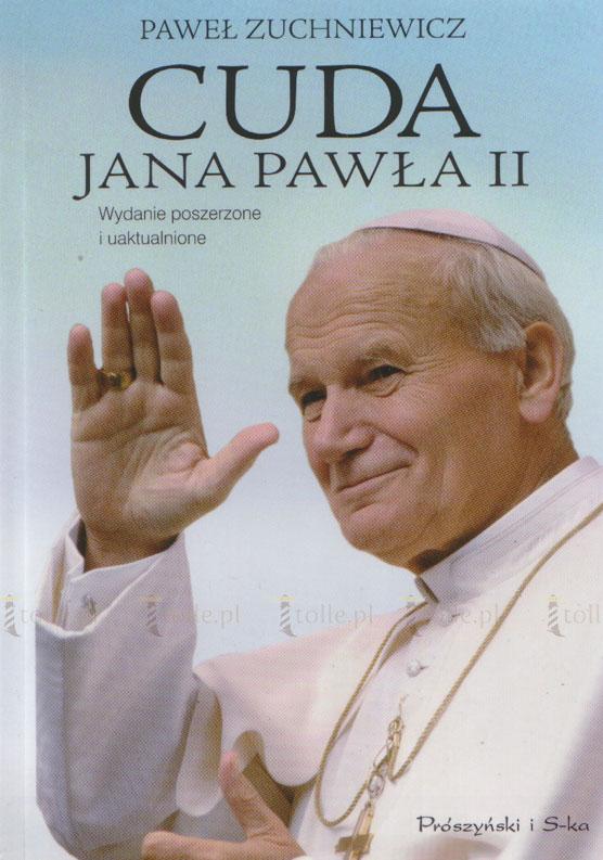 Cuda Jana Pawła II [twarda oprawa] - Klub Książki Tolle.pl
