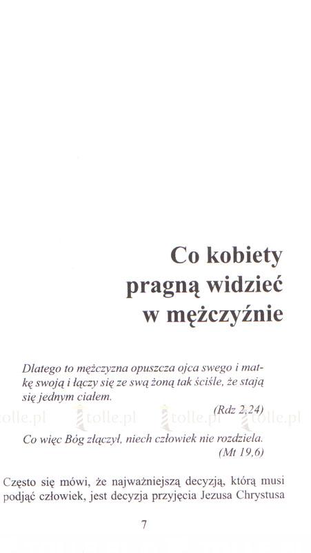 Czego pragnie kobieta w mężczyźnie - Klub Książki Tolle.pl