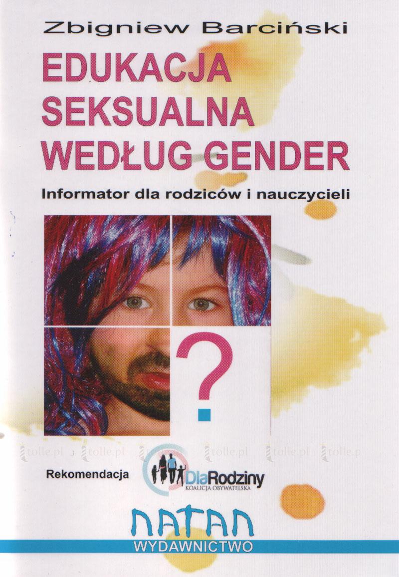 Edukacja seksualna według gender - Klub Książki Tolle.pl