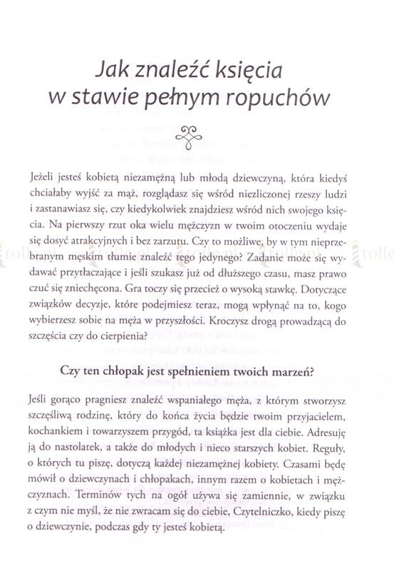 Jak znaleźć księcia z bajki w stawie pełnym ropuchów - Klub Książki Tolle.pl
