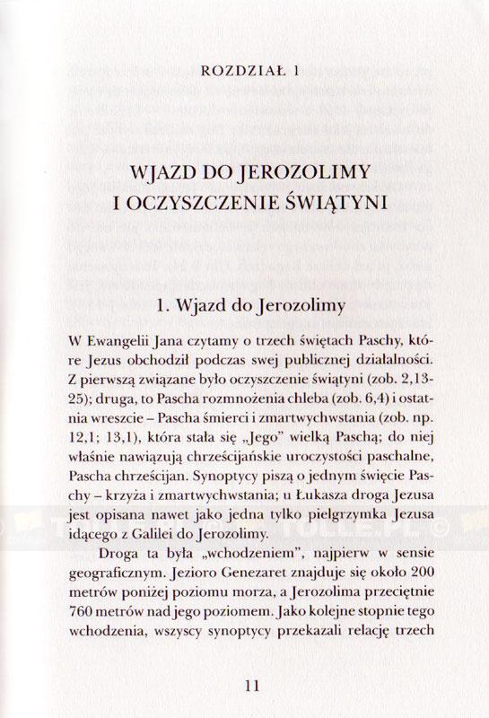 Jezus z Nazaretu - część II. Od wjazdu do Jerozolimy do Zmartwychwstania - Klub Książki Tolle.pl