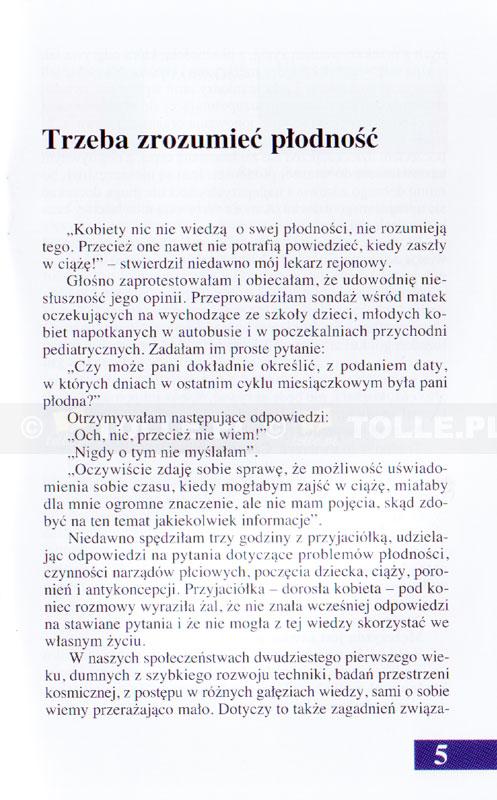 Kiedy jestem płodna, a kiedy nie - Klub Książki Tolle.pl