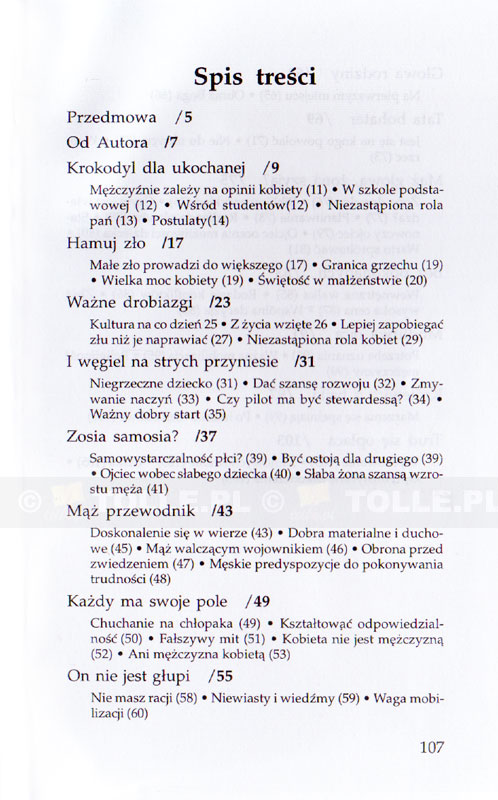 Krokodyl dla ukochanej. Warto wspierać rozwój mężczyzny - Klub Książki Tolle.pl