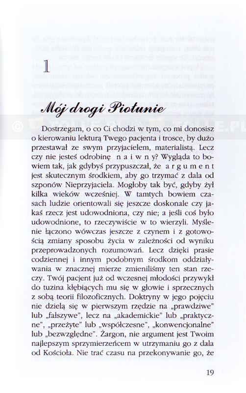 Listy starego diabła do młodego [miękka oprawa] - Klub Książki Tolle.pl