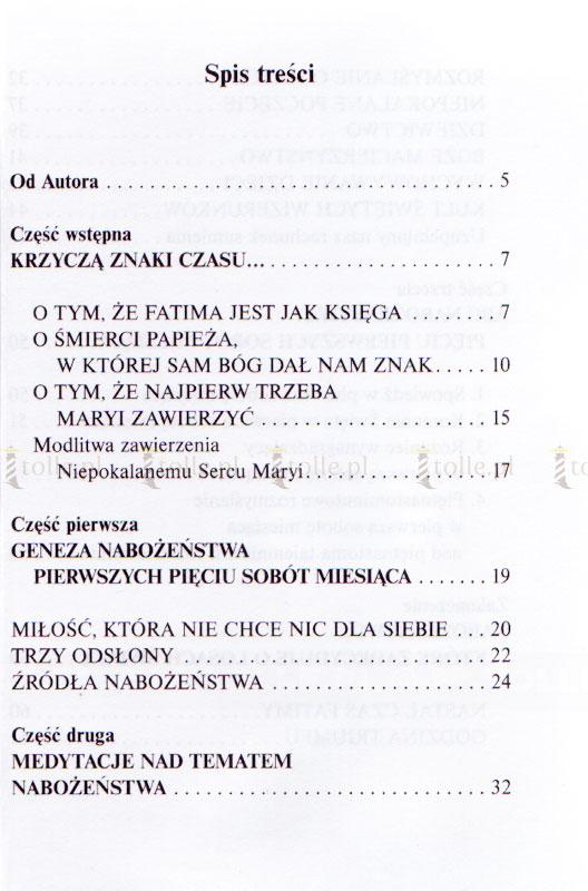 Nabożeństwo pięciu pierwszych sobót miesiąca do Niepokalanego Serca Maryi - Klub Książki Tolle.pl