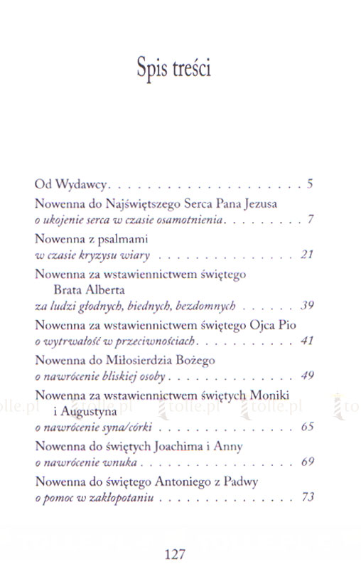 Nowenny. Wytrwała modlitwa w sprawach trudnych - Klub Książki Tolle.pl