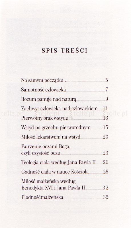 Najkrócej o... darze i teologii ciała - Klub Książki Tolle.pl