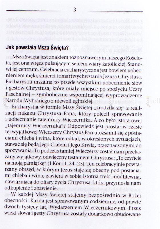 O Mszy Świętej najprościej [mały format] - Klub Książki Tolle.pl