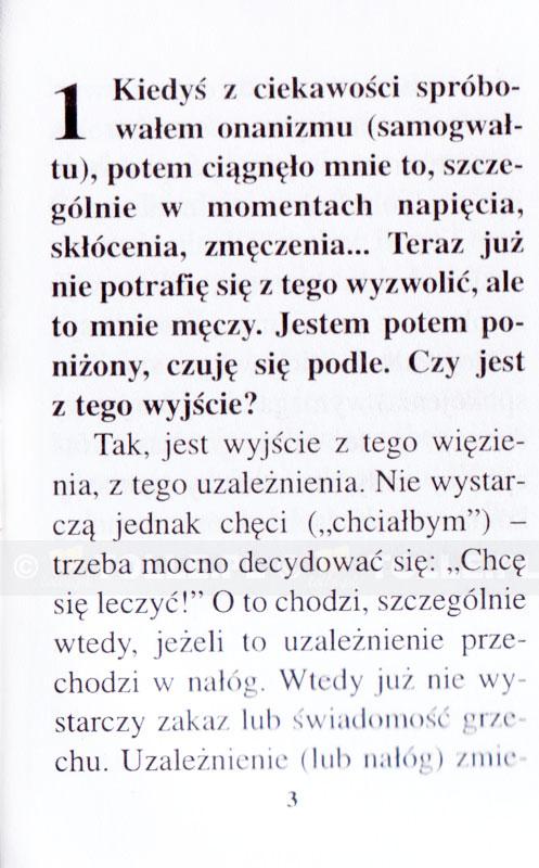 Onanizm - jak się z niego uwolnić? - Klub Książki Tolle.pl