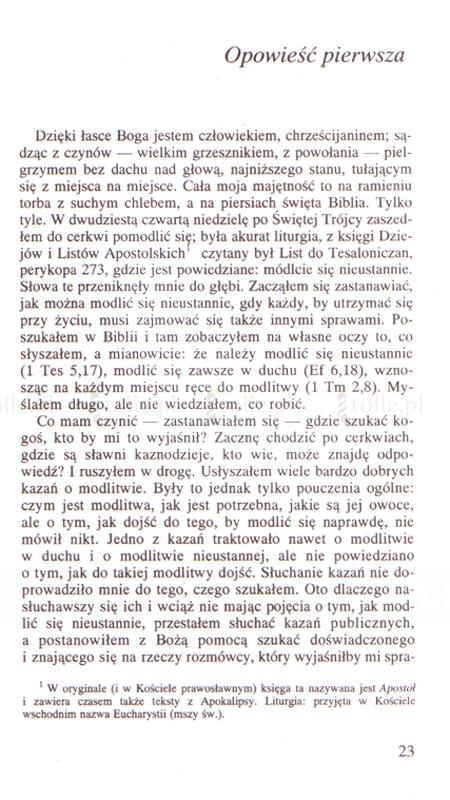 Opowieści pielgrzyma - Klub Książki Tolle.pl