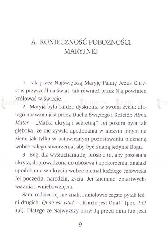 Traktat o prawdziwym nabożeństwie do Najświętszej Maryi Panny - Klub Książki Tolle.pl