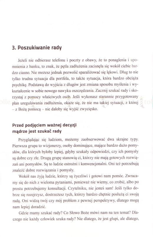 Uzdrowienie finansów. Jak z Bożą pomocą wyjść z długów? - Klub Książki Tolle.pl