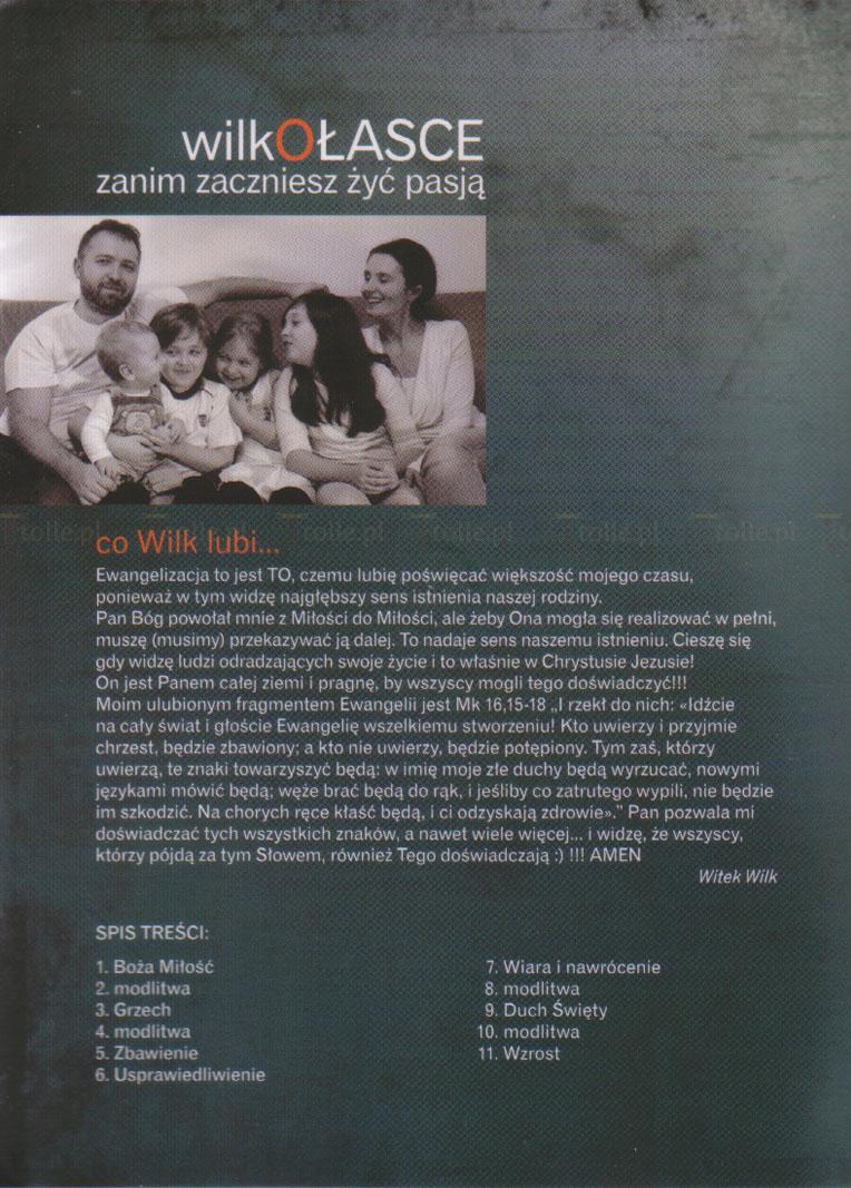 Wilk o łasce. Zanim zaczniesz żyć pasją - Klub Książki Tolle.pl