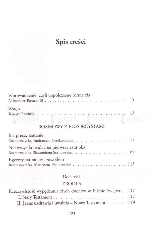 Zawód egzorcysta. Wywiady z polskim egzorcystami - Klub Książki Tolle.pl