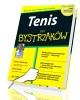 Tenis dla bystrzaków - okładka książki