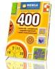 400 testów IQ łamigłówek zagadek - okładka książki