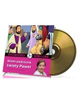 Opowieści biblijne. Tom 24. Wielki podróżnik święty Paweł (CD)