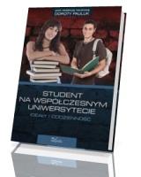 Student na współczesnym uniwersytecie - okładka książki