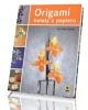 Origami. Kwiaty z papieru - okładka książki