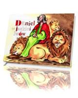 Daniel w jaskini lwów. Malowanka dla dzieci