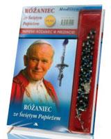 Różaniec ze Świętym Papieżem. Modlitewnik z różańcem