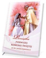 Pamiątka Pierwszej Komunii Świętej ze Św. Janem Pawłem II