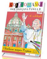 Ukochane miejsca papieża. Kolorowanki świętego Jana Pawła II z naklejkami