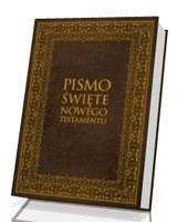Pismo Święte Nowego Testamentu (duże litery z ilustracjami)