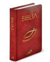 Biblia. Stary i Nowy Testament (bordowa)
