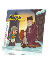 Święty Jan Kanty. Kolorowanka - okładka książki