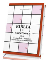 Biblia w krzyżówce oraz wiadomości - okładka książki