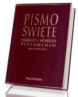 Biblia Tysiąclecia. Pismo Święte Starego i Nowego Testamentu (skóra ekologiczna, paginatory)