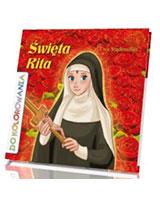 Święta Rita. Kolorowanka - okładka książki