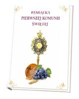 Pamiątka Pierwszej Komunii Świętej z ramką