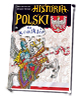 Historia Polski w komiksie - okładka książki