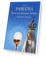 Pamiątka Pierwszej Komunii Świętej z Matką Boską Fatimską