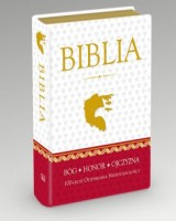 Biblia Domowa w obwolucie patriotycznej