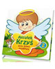 Aniołek Krzyś uczy dzieci modlitwy - okładka książki