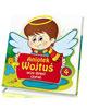 Aniołek Wojtuś uczy dzieci czytać - okładka książki