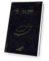 Biblia z rybką z suwakiem - czarna