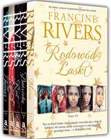 Rodowód Łaski - Francine Rivers - pakiet - tomy od I do V
