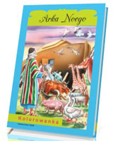 Kolorowanka. Arka Noego