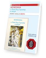 Nowenna do Matki Bożej Zwycięskiej za chorych. Modlitewnik ze srebrnym medalikiem