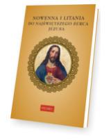 Nowenna i litania do Najświętszego - okładka książki