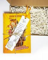 Szusta rano - książka zapakowana na prezent
