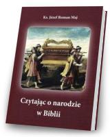 Czytając o narodzie w Biblii - okładka książki