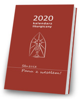 Kalendarz liturgiczny 2020. Służcie Panu z weselem!